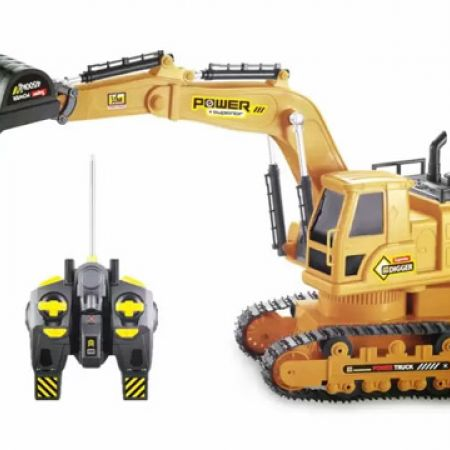 Heavy Equipment Excavator Truck Toy With Remote Control