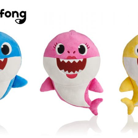 Toypro Pinkfong Baby Shark Official Song Doll 14 x 18 x 24 cm - Daddy Shark