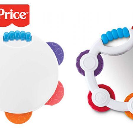 Buy One Get One Free! Fisher-Price Shake N Beats Tambourine 20.5 x 16 x 4 cm
