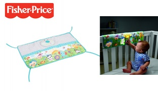 Buy One Get One Free! Fisher-Price Twinkling Lights Crib Rail Soother 28 x 44 x 5.5 cm