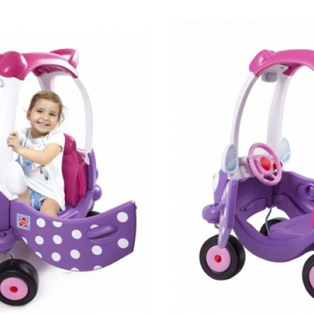 Grow'n Up Pink Miss Coupe Ride-On 18.1 x 29.2 x 34.3 inch