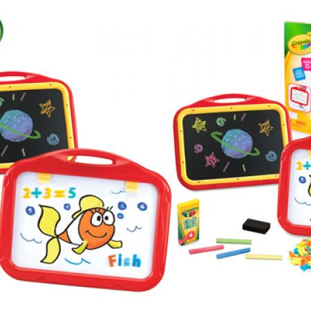 Crayola Create and Educate 2-Sided Board