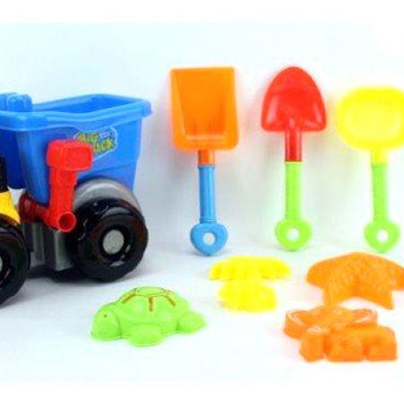 Truck Sand Beach Toys 9 Pcs