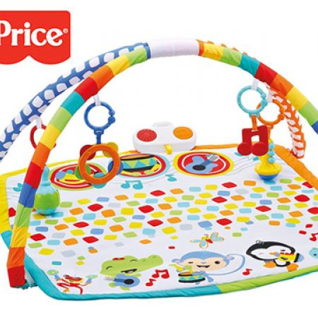 Fisher Price Baby's Bandstand Play Gym 2.8 x 26.5 x 21 inch