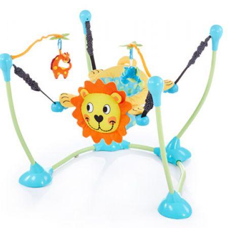 Baby Jungle Lion Activity Bouncer 78 x 78 x 70 cm