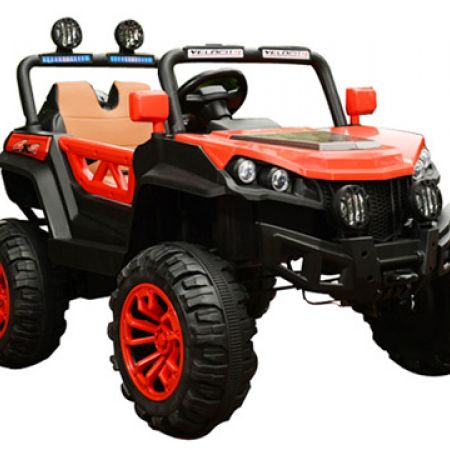 Electric Red Buggy 4 Motors With Remote Control 122 x 76 x 72 cm