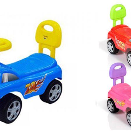 Moni Cute Push Keep Riding Car 52 x 25 x 35 cm - Blue