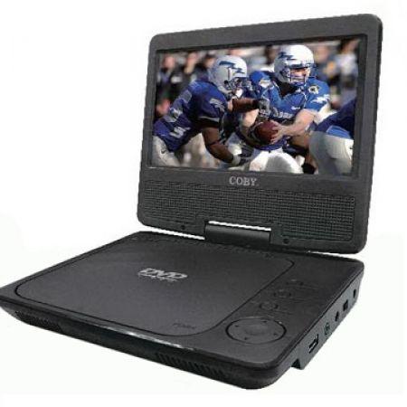 Coby 7068 7-inch Portable DVD/CD/MP3 Player 18 x 16 x 4 cm