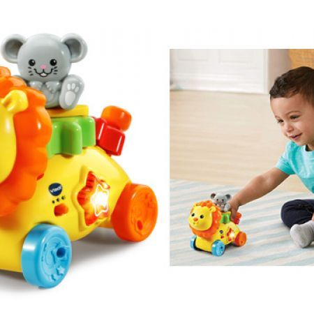 French Version VTech GearZooz GearBuddies Lion /& Mouse