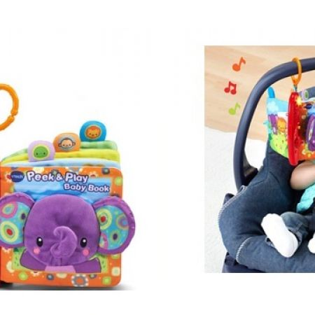 Vtech Baby Peek and Play Baby Book - English