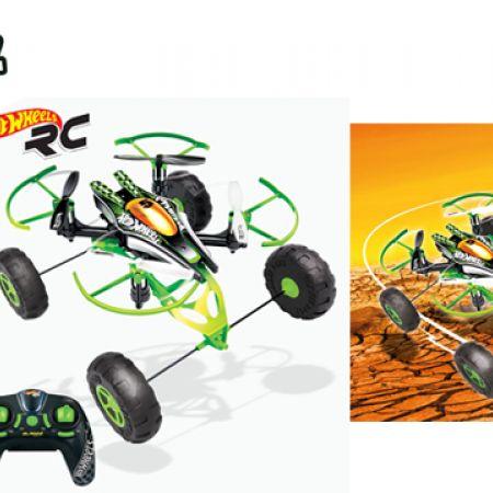 Bladez Toyz Hot Wheels RC Monster X-Terrain Drone
