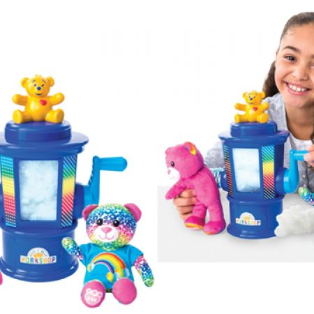 Spin Master Build-A-Bear Workshop Stuffing Station & 1 Furry Fashions