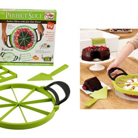 Set Of The Perfect Slice Silicone 3 Pcs