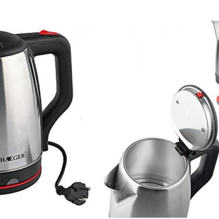 Haeger HG-7829 Stainless Steel Electric Kettle 2 L 2000 W