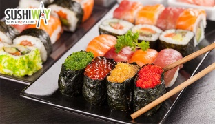 Sushi & Chinese Cuisine From The Menu