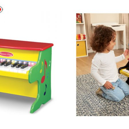 Melissa Doug Learn To Play Wooden Piano
