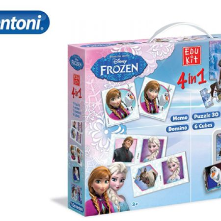 Clementoni Frozen 4 In1 Education Kit