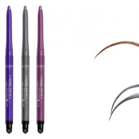 Bourjois Ombre Smoky Eyeshadow & Eyeliner - 001 Black