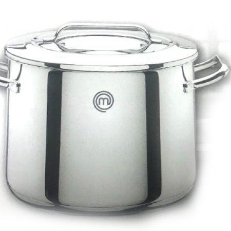 MasterChef Stock Pot With Lid 24 cm 7.8 L