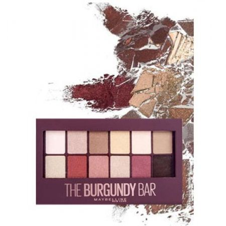 Maybelline New York Eyeshadow Palette The Burgundy Bar 12 Colors