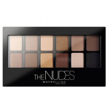 Maybelline New York The Nudes Eyeshadow Palette 12 Colors
