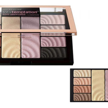Maybelline New York Total Temptation Eyeshadow & Highlighters Palette 10 Colors