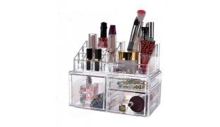 Design Acrylic Jewelry & Cosmetic Storage Box Set