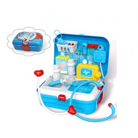 2-In-1 Backpack Kids Little Doctor Set 17 Pcs