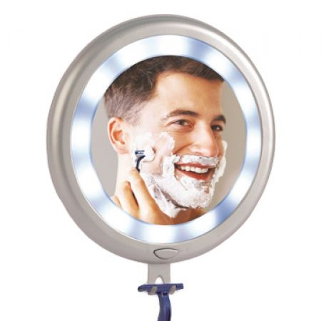 Fogless LED Shower Mirror With 12 Super Bright Lights