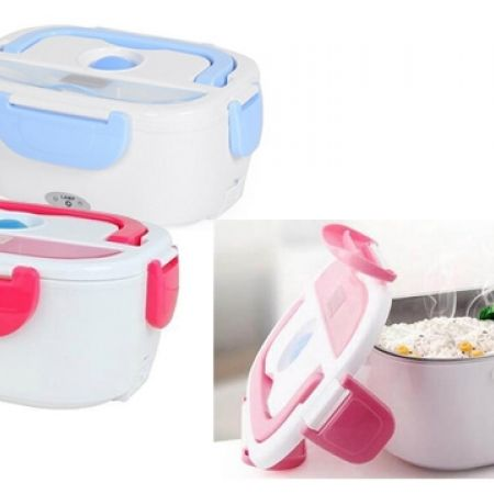 Portable Multi-Functional Electric Lunch Box 1.5 L - Red