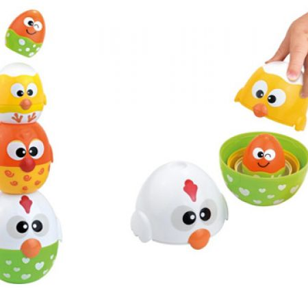 Baby Smile Stackable Chicks & Eggs