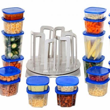 Spin N Store 49 Pcs Food Storage Set
