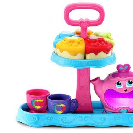 LeapFrog Musical Rainbow Tea Party Toy - English