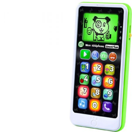 LeapFrog Mobile Chat & Count emoji Green - French