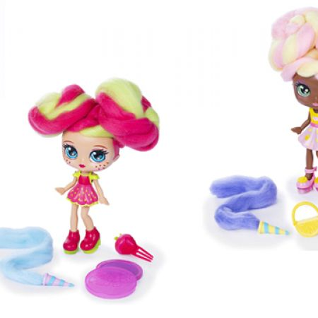 Spin Master Candylocks Sugar Style Deluxe Scented Collectible Doll with Accessories - Straw Mary