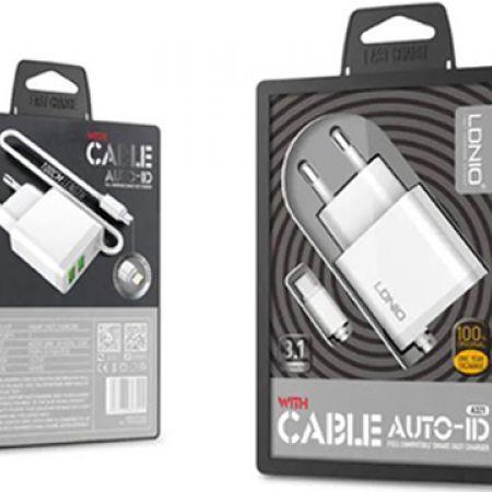 Ldinio Dual USB Phone Charger 3.1 A - Makhsoom