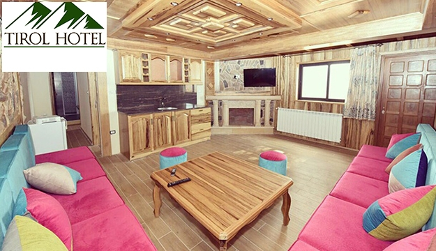 1-Night Stay in a Chalet For Up To 7 Persons With Chimney & heater