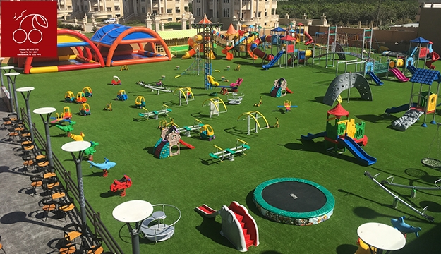 Trampoline & Playground Access