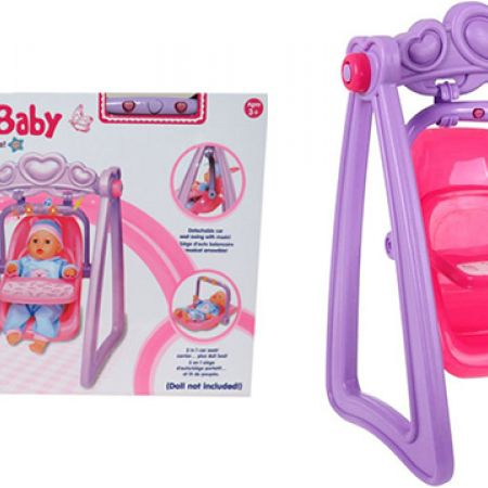 Sweet Baby Doll Swing With Detachable Car Seat